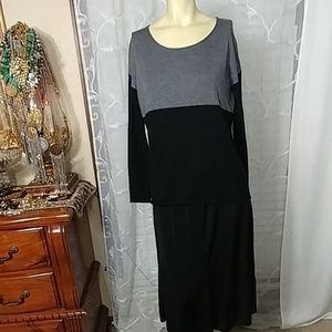SPLENDID Knit Color Block Pullover